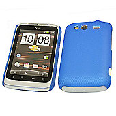 iTALKonline Mesh Hard Case - HTC WildFire S - Blue