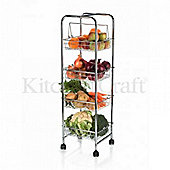 TP - Trolley Four Tier 87x26x25 - Chrome Plated
