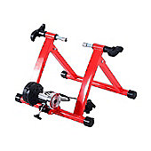 Homcom Magnetic Bicycle Trainer in Red
