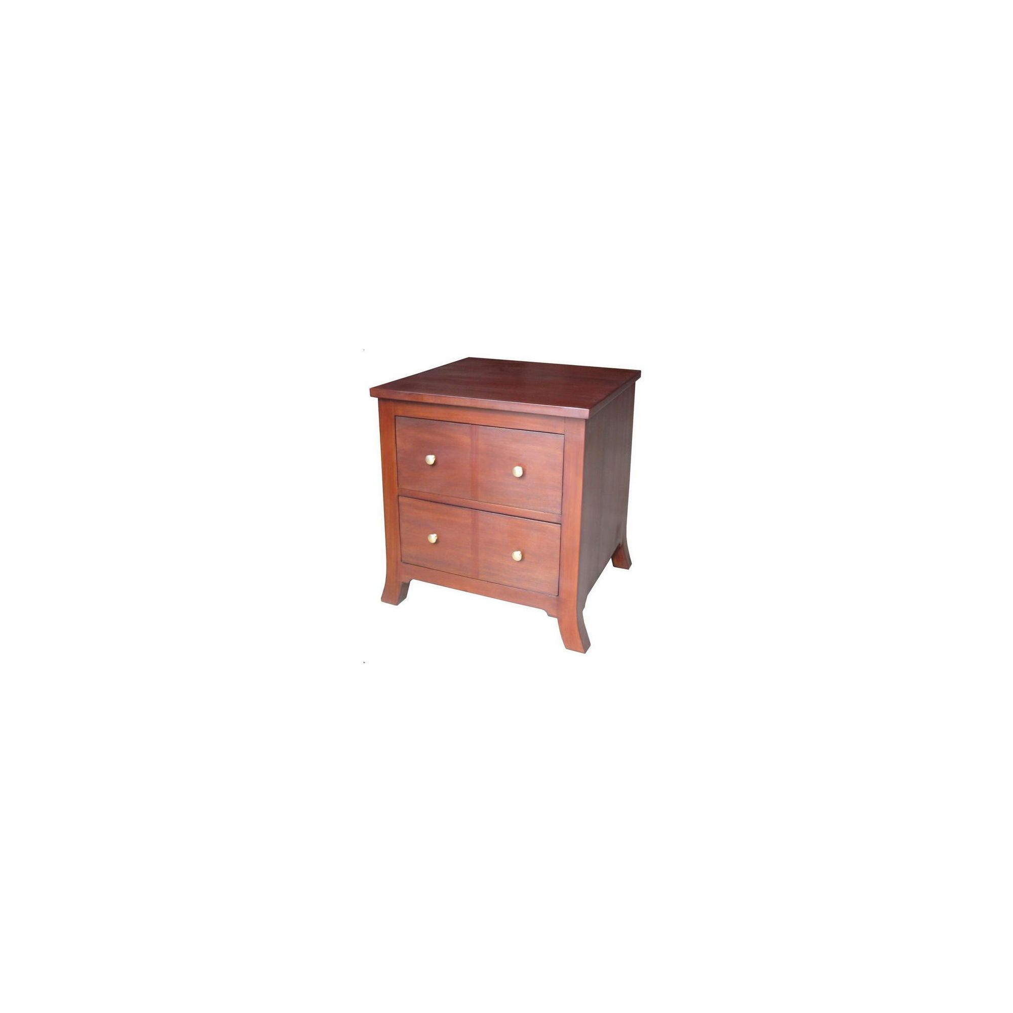Lock stock and barrel Mahogany Orchard Lamp Box with 2 Drawers in Mahogany at Tesco Direct