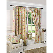 Charlotte Ready Made Lined Curtains - Brown