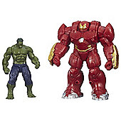 Marvel Avengers Age of Ultron Hulk Vs Hulk Buster