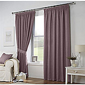 Curtina Leighton Heather Lined Curtains 90x108 Inches