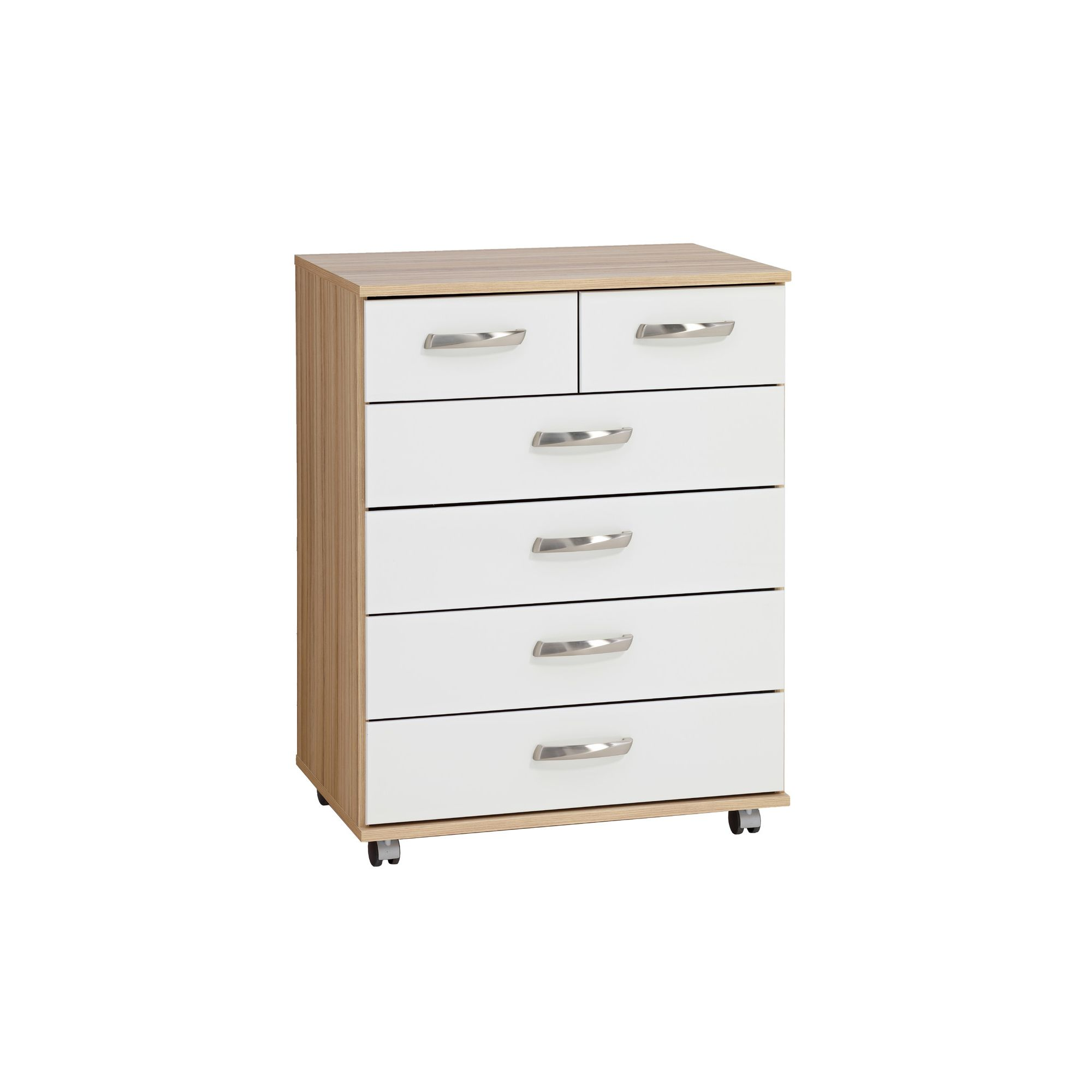 Ideal Furniture Regal Drawer Chest in white at Tesco Direct