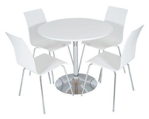 Buy LEVV DTW 50W White Dining Set From Our Dining Table Chair Sets Rang