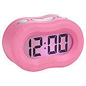Acctim Pink Vierra Alarm Clock