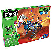 KNEX Beasts Alive X Flame Building Set