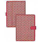 iPad Air Laser Cut Folio Stand Case Coral