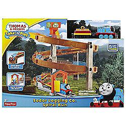 Thomas & Friends Take-N-Play Sodor Logging Co Spiral Run