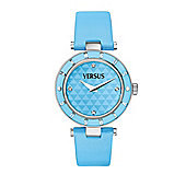 Versus Logo Ladies Fashion Crystal Watch - SP8010013