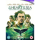 In the Heart of the Sea DVD
