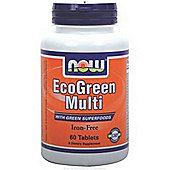 Now Ecogreen Multis 60 Tablets