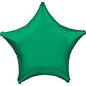 Green Star Balloon - 32' Foil (each)