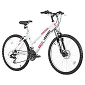 "Vertigo Tabor 26"" Front Suspension Mountain Bike, White"