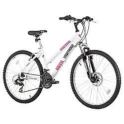 "Vertigo Tabor 26"" Front Suspension Mountain Bike, White"