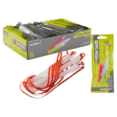 Summit Festival Glow Sticks, Pack of 3