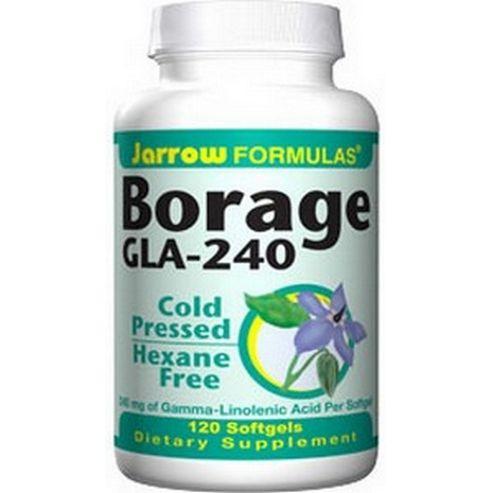 Jarrow Borage Gla 240mg 120 Softgels