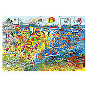 Bigjigs Toys BJ018c Seaside Floor Puzzle (96 Piece)