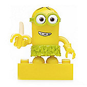 Mega Bloks Despicable Me Minions Series 3 Figure - Kevin (Hula with Banana)