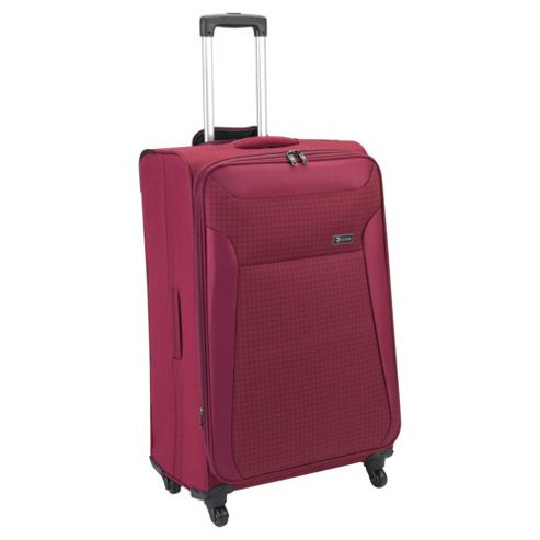 Revelation by Antler Nexus 4-Wheel Suitcase, Raspberry Check Large