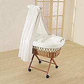 Leipold Amadeus Wicker Drape Crib
