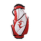 Woodworm Golf Premium Staff Player Golf Bag Wht/Red