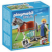 Playmobil 5533 City Life Horse with X-Ray Technician