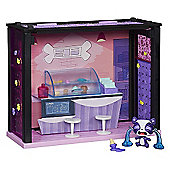Littlest Pet Shop Scene - Treat Bar Style Set