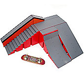 Tech Deck Ryan Sheckler Warehouse Plan B - Ramp, Quarter Pipe and Grind Wall Version 1