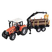 ELC Farm Tractor and Logging Trailer