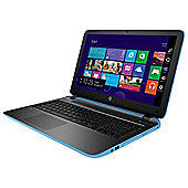 HP Pavilion 15-p296na 15.6-inch Laptop, AMD A10, 12GB RAM, 2TB HDD - Blue + Silver