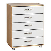 Ideal Furniture Regal 5 Drawer Chest