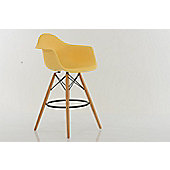 Eames DAW Bar Stools Cream