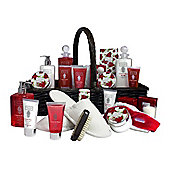Crimson Rose Pamper Hamper Trug (LS29)