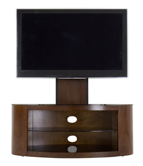 FSL1000BUCW AVF Buckingham Walnut 55 TV Stand With Mount