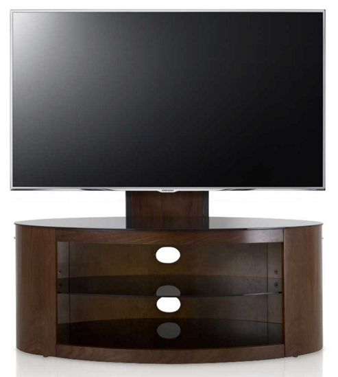 buy avf buckingham walnut tv stand with mount for up to 55 inch from our tv stands units range. Black Bedroom Furniture Sets. Home Design Ideas