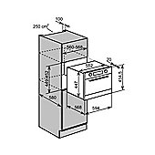 Baumatic BMC460BGL 44 Litre Integrated Combination Microwave Oven Black