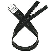 Chunky Zip - 71cm - Black