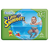 Huggies Unisex  Little Swimmers Size 3-4