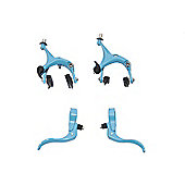 UH Road Dual Pivot Callipers & Brake Levers Fixie in Blue