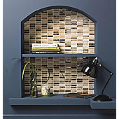 Emperador/Glass Mix Mosaic 305X305mm (0.09 M² / Box)