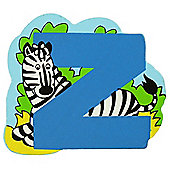 Bigjigs Toys BJL126 Wooden Magnetic Animal Letter Lowercase Z (Designs Vary)