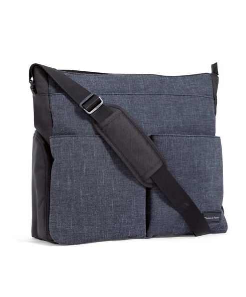 Mamas & Papas - Messenger Changing Bag - Denim