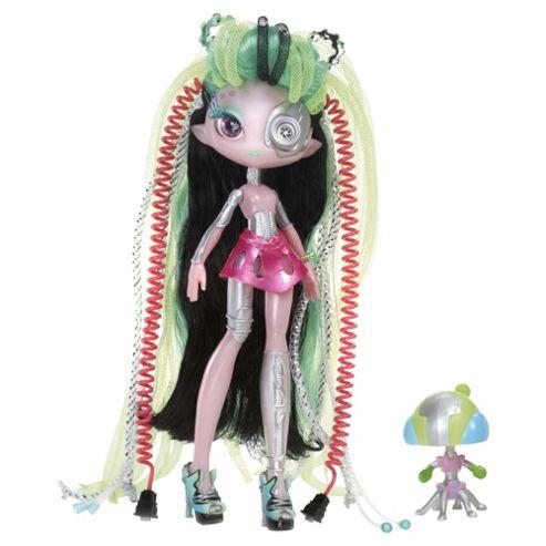 Novi Stars Curl & Coil Doll - Pink Hair