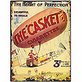 Hill Interiors The Casket Cigarettes Tin Sign