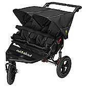 Out n About Nipper Double Pushchair V4, Raven Black