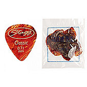 Stagg CSR71 Guitar Pick .71mm Pack of 72