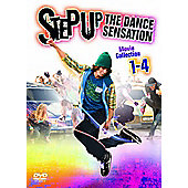 Step Up 1-4 Boxset 4 Discs Dv