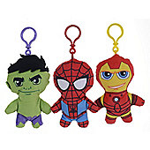 "Marvel Superhero Squad Chunky 5"" Bagclip Iron Man"
