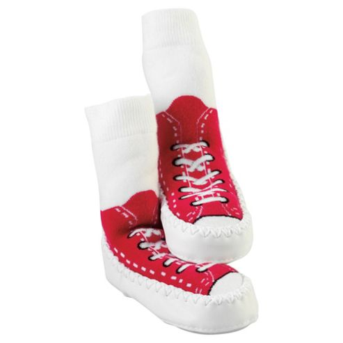 Mocc Ons Sneaker Red 6-12 months
